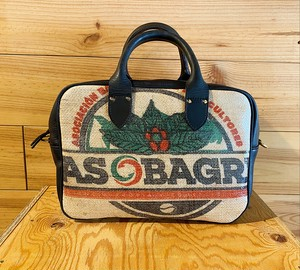*送料無料*KISSACO BOSTON SHOULDER BAG(guatemala)・M ・black