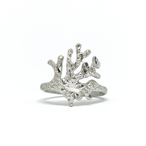 stitching サンゴのリング(silver)