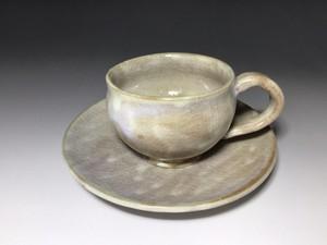 コーヒーカップ&ソーサー 赤土