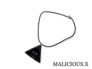 eye necklace / blue × violet
