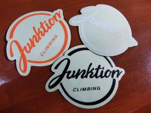JUNKTION ロゴステッカー