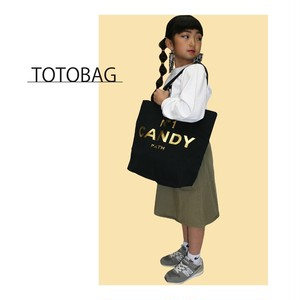TOTE BAG GOLD/WHITE