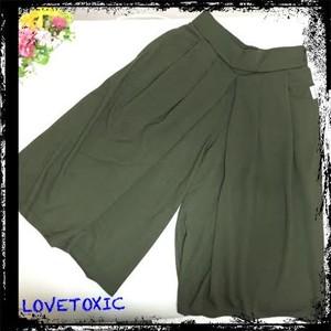 SOLDOUT【LOVETOXIC】ガウチョパンツ(スカンツ)140,150,160size