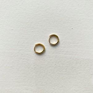 circle pierce (gold)