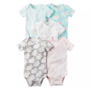 Rompers Rabbit and Elephant 5pieces set