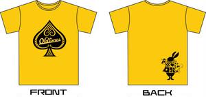 OLTONトランプTシャツ (YELLOW)