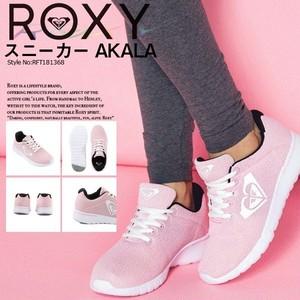 RFT181368 ロキシー スニーカー レディース 人気ブランド 女の子 靴 シューズ かわいい おしゃれ フィットネス ヨガ ピンク ROXY