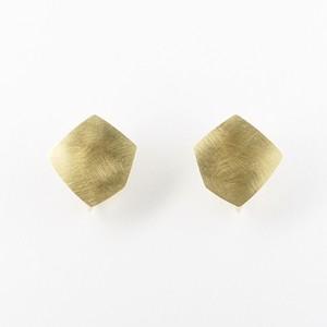 Shiny pentagon earring