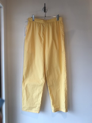 VOIRY DOCTOR PANTS(ドクターパンツ) YELLOW