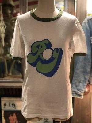 70s ビンテージ tシャツ ヘインズ hanes リンガー