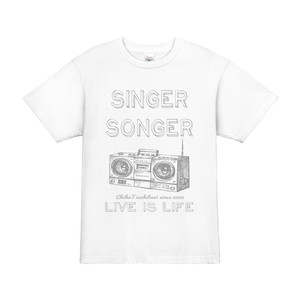 9th anniversary Tシャツ(LIVE IS LIFE white)