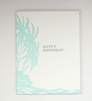 【Bradley & Lily】グリーティングカード Vintage Island Birthday