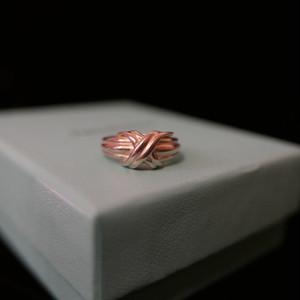 """Tiffany """"X"""" Symbol Silver Ring"""