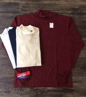 "CAMBER ""8oz MAX WEIGHT MOCK NECK L/S TEE"""