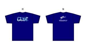 CLUEカモロゴTシャツ ブルー/ブルーカモ