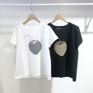 peu pres / イチゴプリントTシャツ