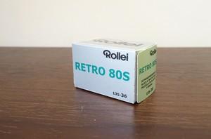【モノクロネガフィルム 35mm】Rollei(ローライ) RETRO80S 36枚撮り