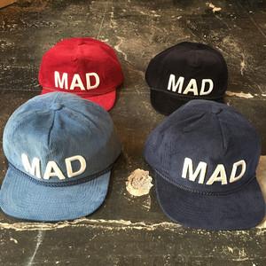 MDS6H01 : コーデュロイCAP MAD