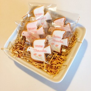 Mother's Day 幸せのハトアイシングクッキー5枚set