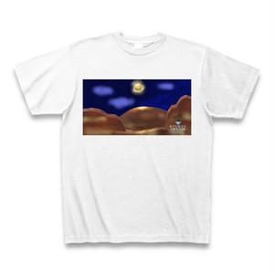 「月夜のグランドキャニオンと天の川」Tシャツ
