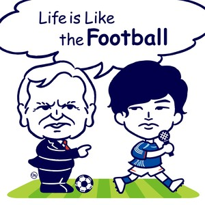 【解説 & 全曲 Instrumental CD付き】Life is like the football