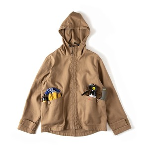 GRIP SWANY FIREPROOF CAMP PARKA GSJ-51 COYOTE
