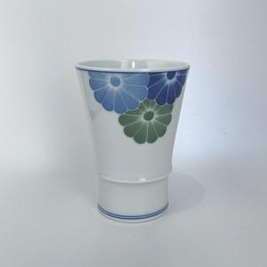 三色輪花フリーカップ