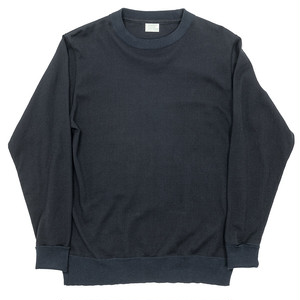 WORKERS / FC Knit Medium Weight Crew Black