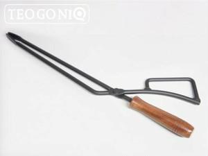 (送料込)TEOGONIA/テオゴニア Fireplace Tongs/ファイヤープレーストング バーベキュー 炭ばさみ 薪ばさみ