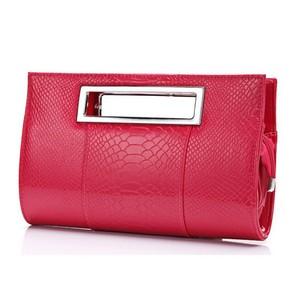 PU Alligator Leather Handbag Evening Bag Tote Shoulder Bag Belt ショルダーバッグ トートバッグ レザー ハーネス ベルト ハンドバッグ (FO99-2930287)