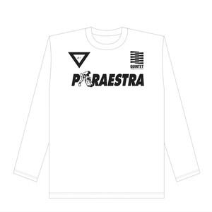 TEAM PARAESTRA ロングT WHITE