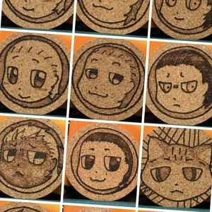 【K様ご注文品】コースターセット