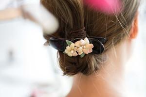 『 紫陽花のヘアクリップ 』