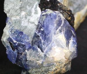 ベニトアイト ネプチュナイト 原石 ベニト石 18g BN030