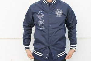 Diaspora Skateboards / Fraternity Nylon Stadium Jacket