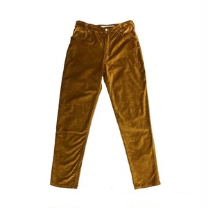 ECKHAUS LATTA VELOUR SLIM TROUSER