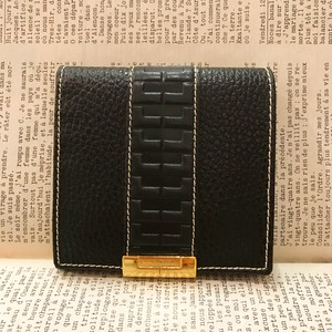 dead stock LANCEL leather wallet