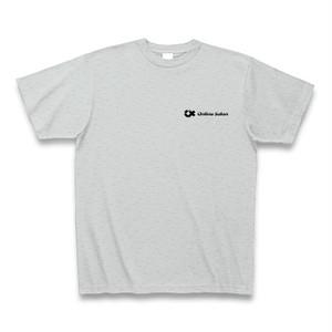 Online Salon Tシャツ|グレー