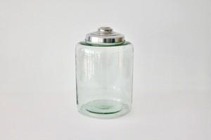 antique glass jar dead stock / 古いガラス瓶 デッドストック