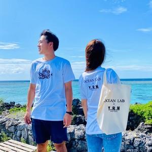 OCEAN LAB✕Y.R.Nコラボ Tシャツ&エコバッグセット