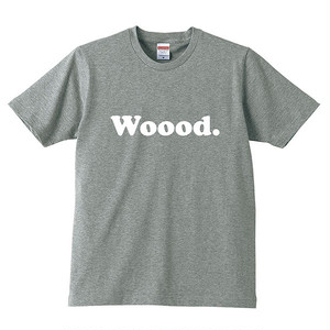 Woood. T-shirt Gray for Kids