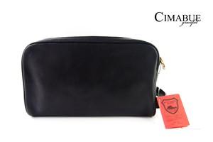 チマブエ グレースフル|CIMABUE graceful |セカンドバッグ|栃木レザー|ブラック