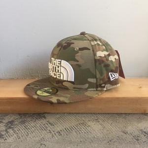 USストア限定 The North Face x New Era Half Dome Logo Cap Camo