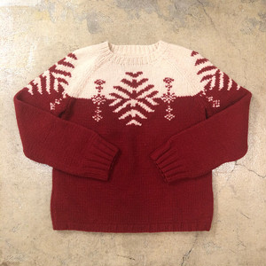 Snowflake Sweater ¥5,900+tax