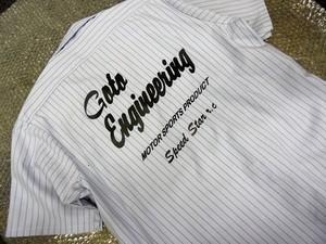 オリジナル ワークシャツ 半袖