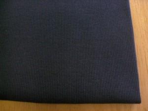 J&B定番 綿40スパン・リブ ダークネイビー NTM-2641
