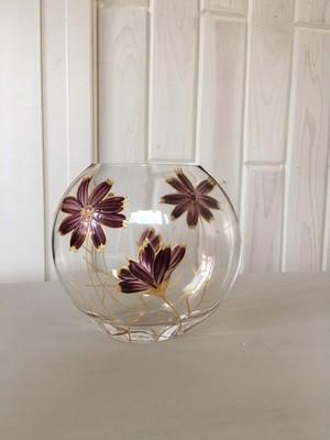 《母の日ギフト》【チョコレートコスモス】 フラワーベース・花器|両親贈呈品・誕生日プレゼント