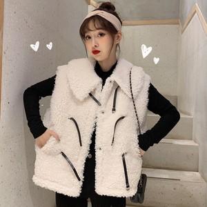 【トップス】人気上昇中ファッションゆったりノースリーブストラップ暖かいベスト
