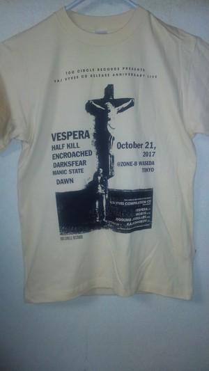 VA/ VYVES CD RELEASE ANNIVERSARY LIVE Tシャツ