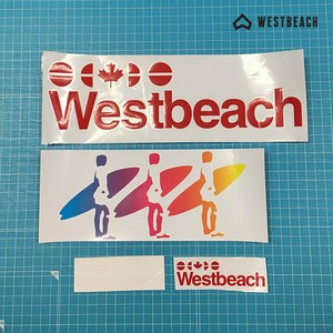 WESTBEACH CLASSIC STICKER PACK - 4枚セット